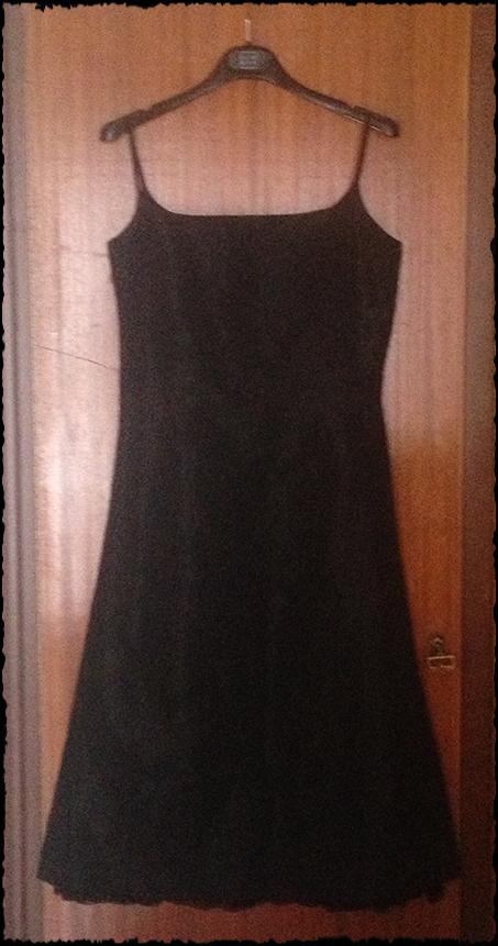 black-tafta-dress