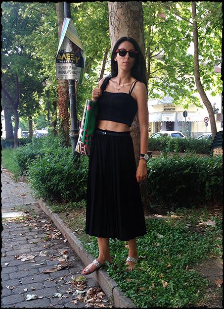 black-cropped-top-black-skirt