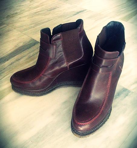 burgundy-booties