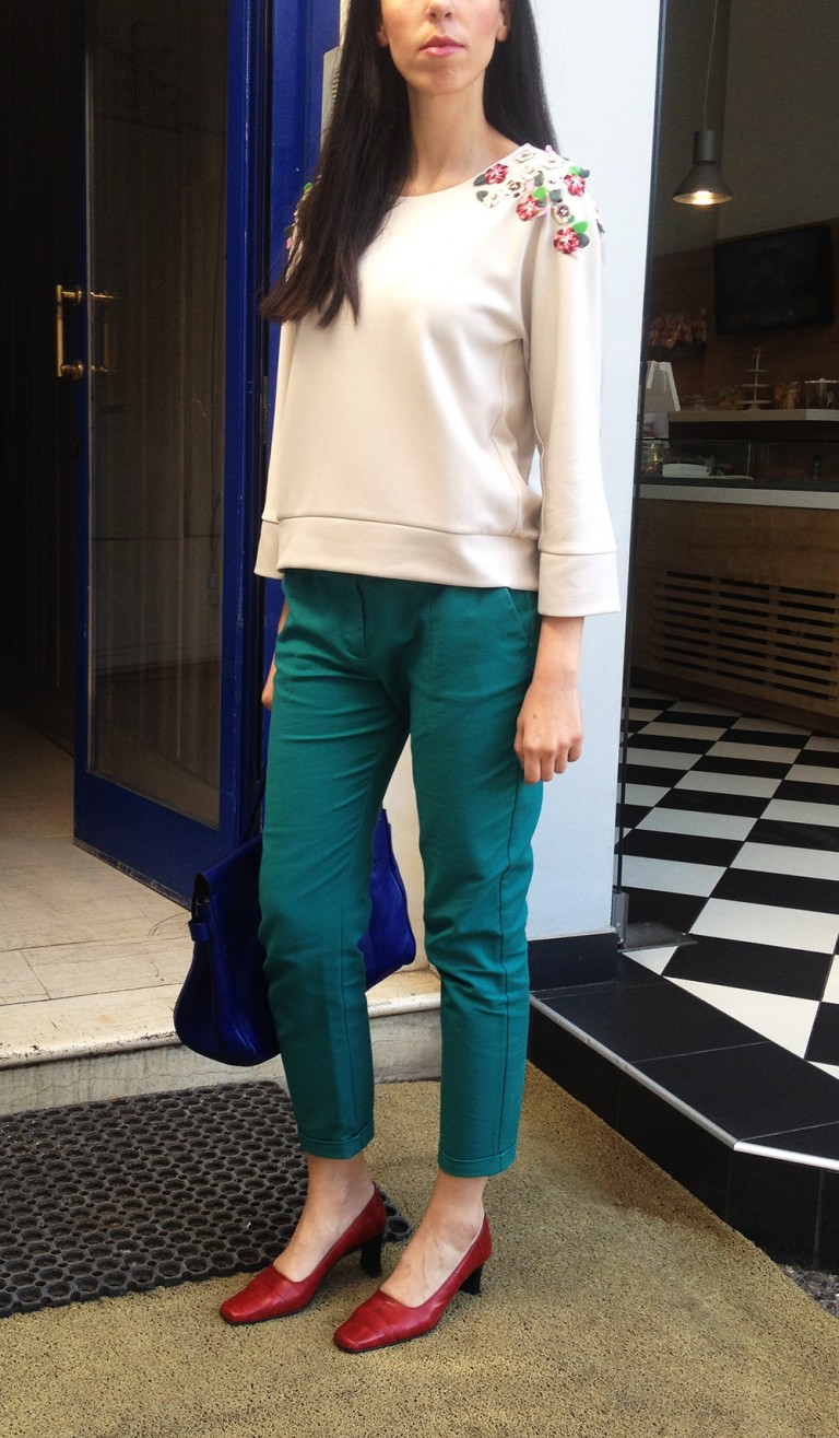 embellished-top-green-pants