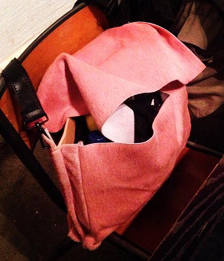stockholm pink bag