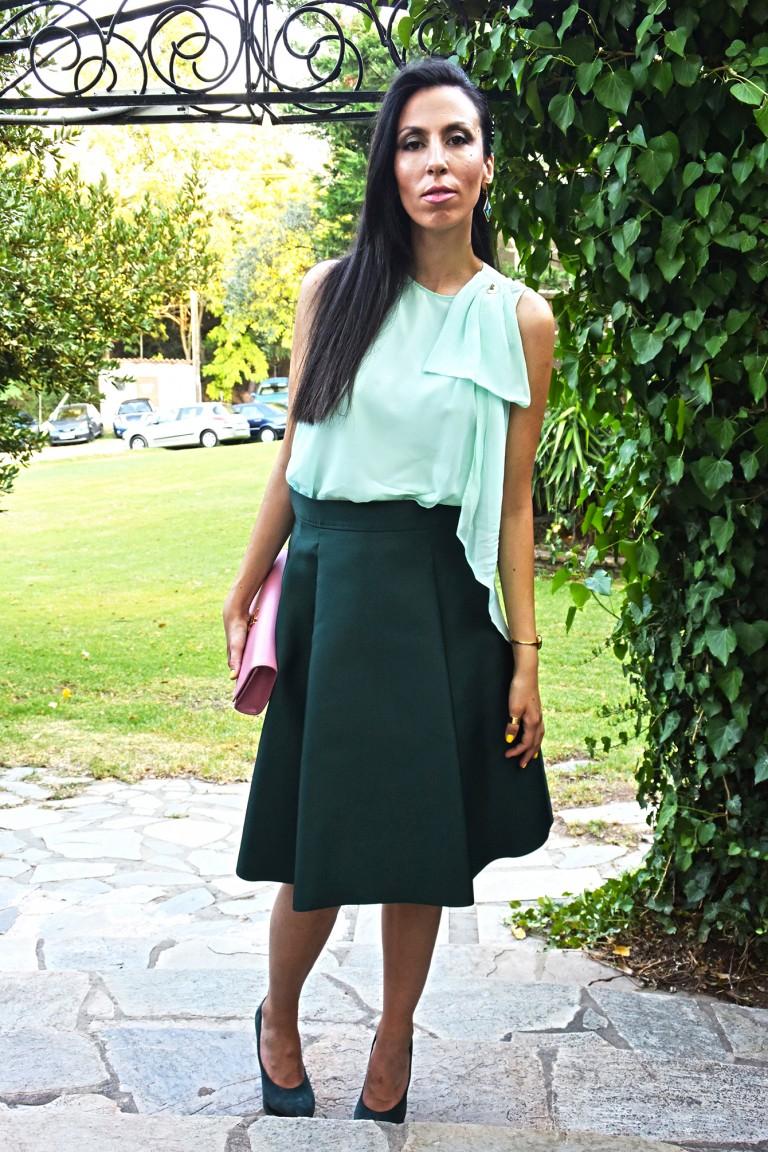 green skirt1