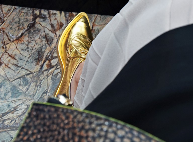 simone-rocha-gold-shoes