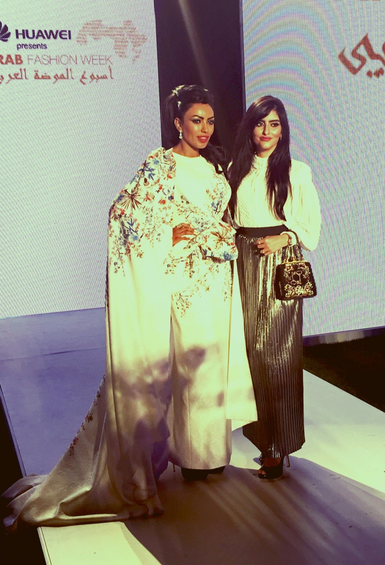 faashion crowd -arab fashion week