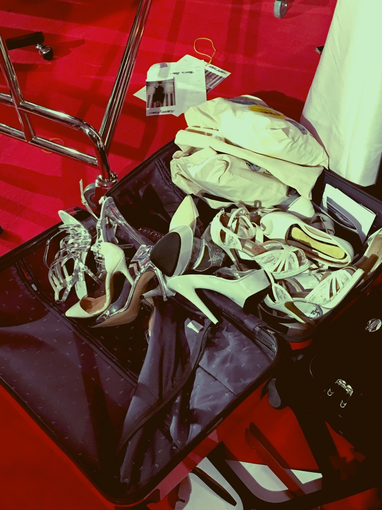 shoes backstage-arab fashion week