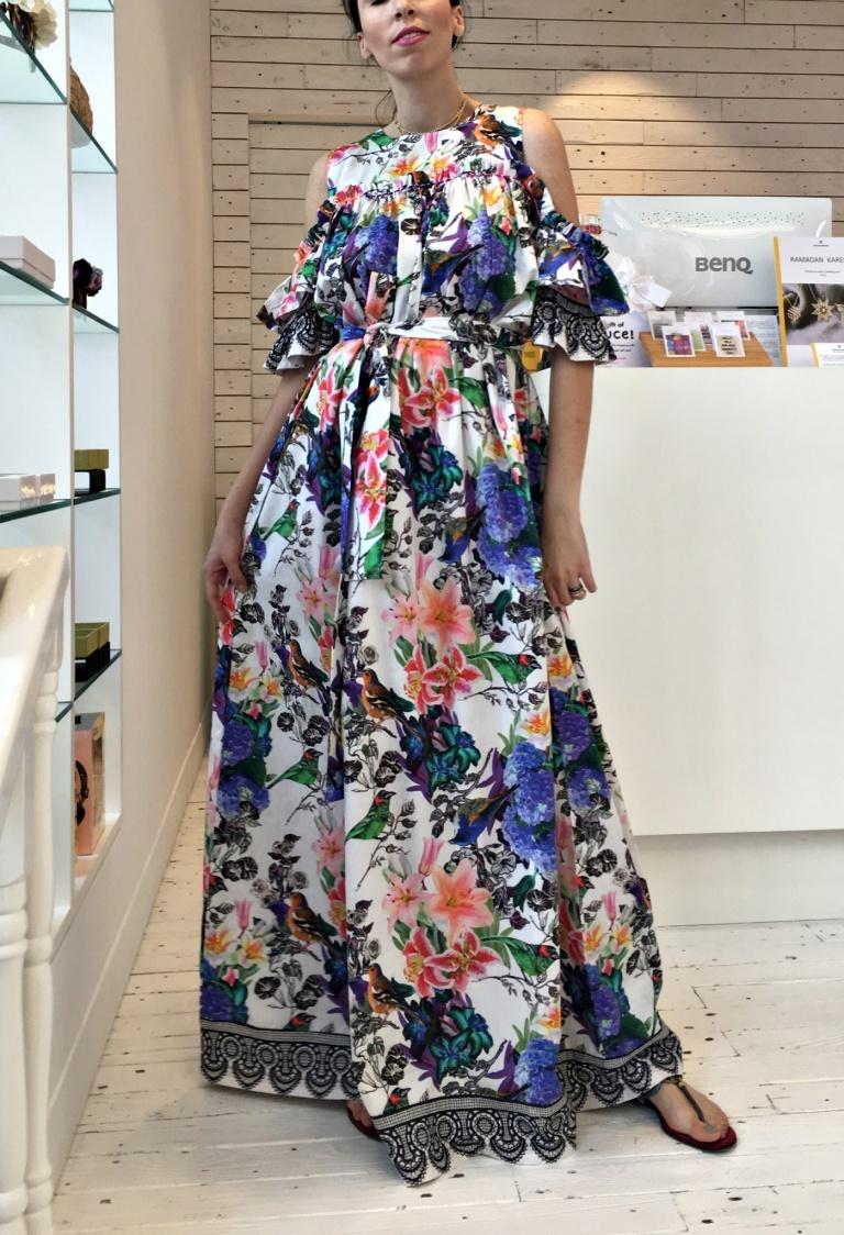 Sauce-floral dress1