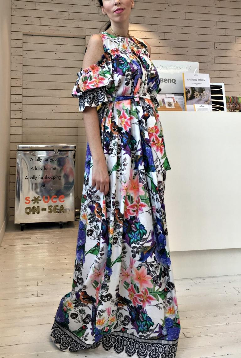 Sauce-floral dress3