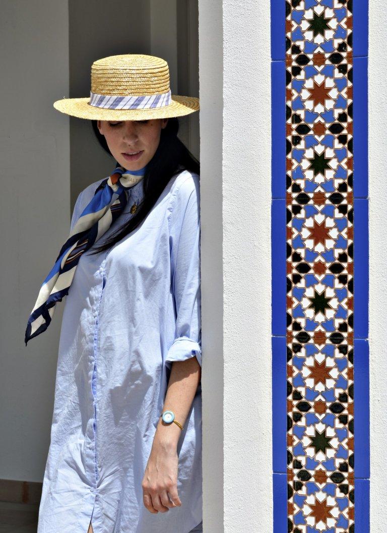 laltramoda scarf-matching tiles