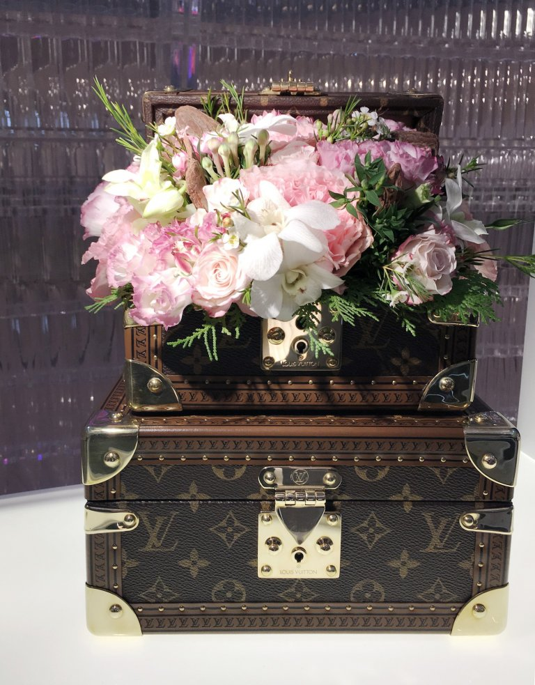 LV perfume - flowers