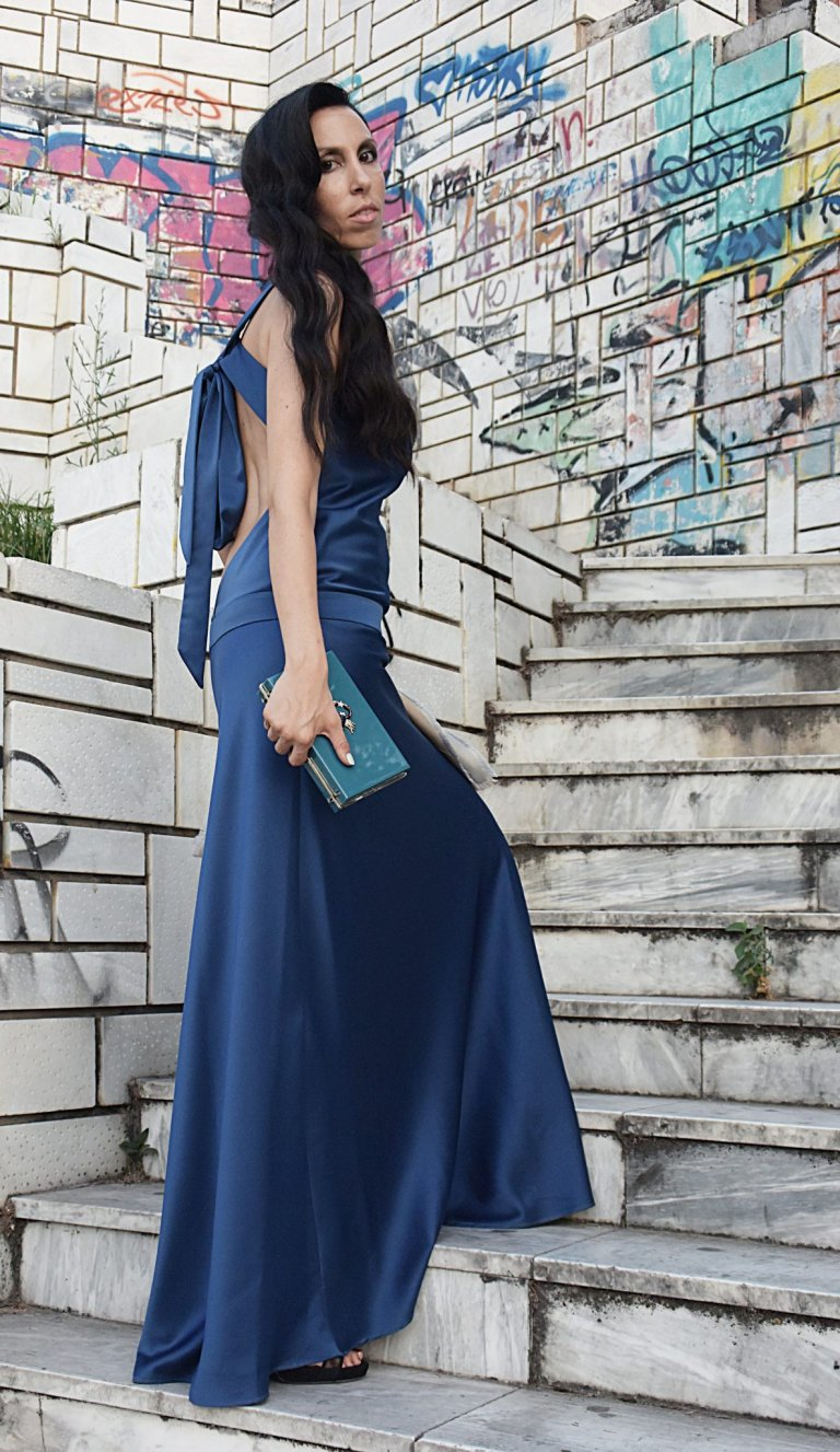 satin dress3